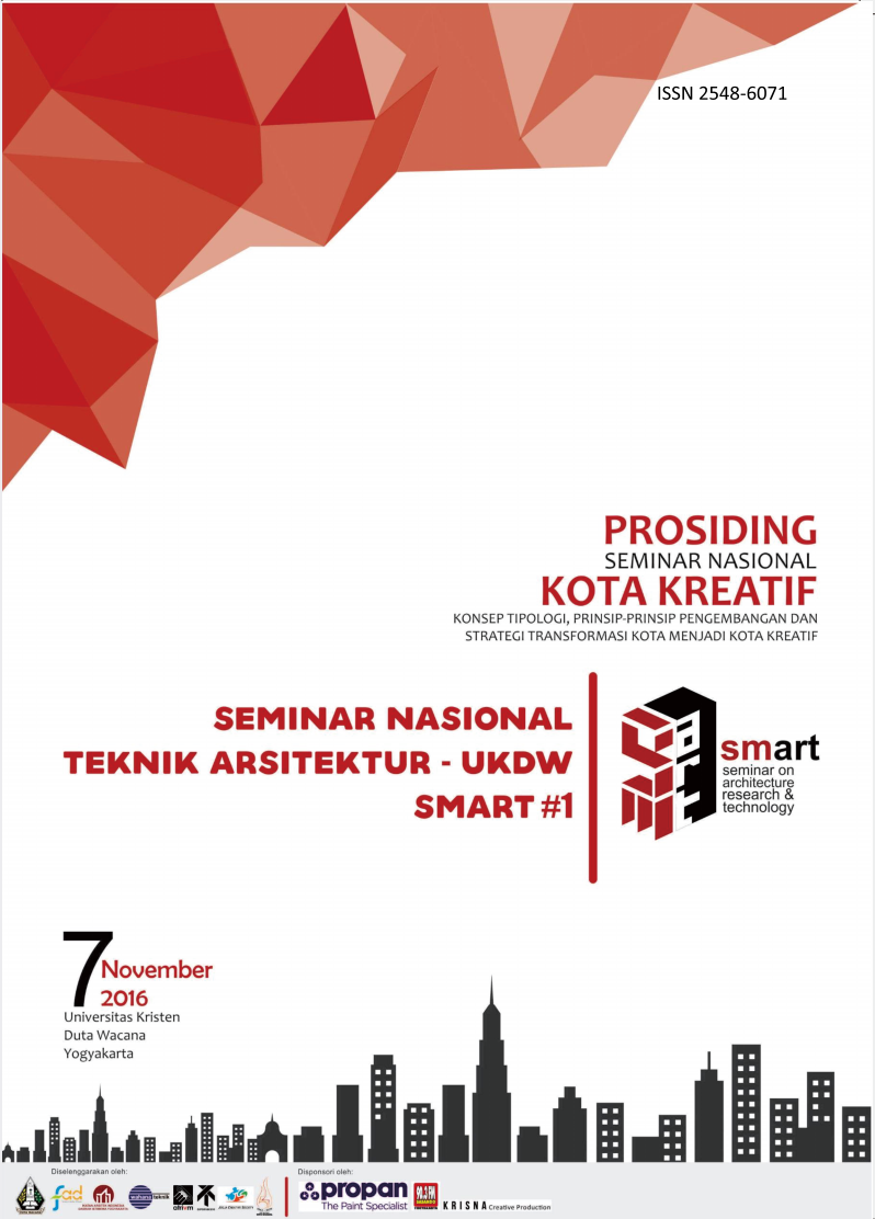 View Vol. 1 (2016): SMART #1 - Seminar on Architecture Research & Technology