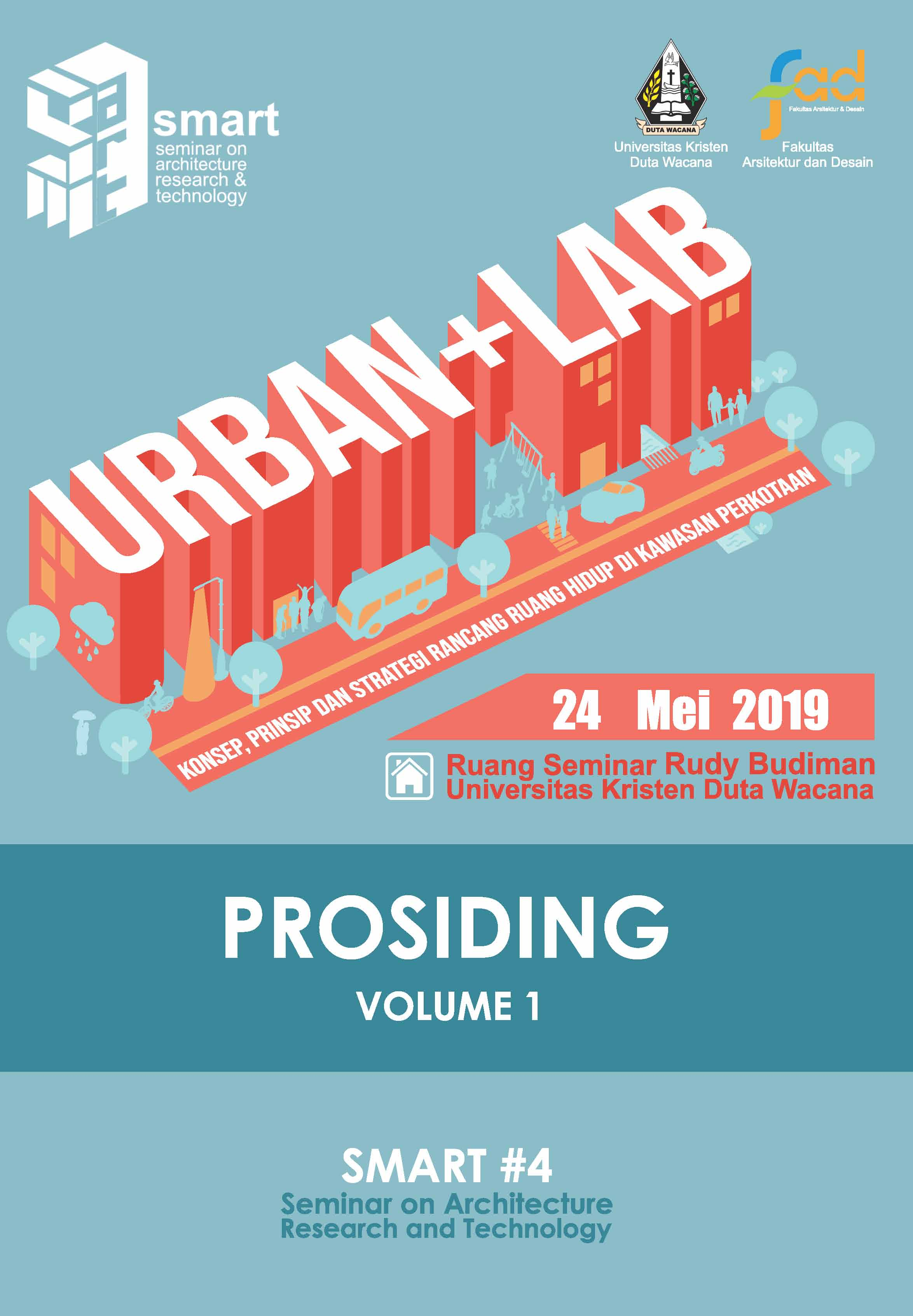 View Vol. 4 No. 1 (2019): SMART #4 - Seminar on Architecture Research & Technology