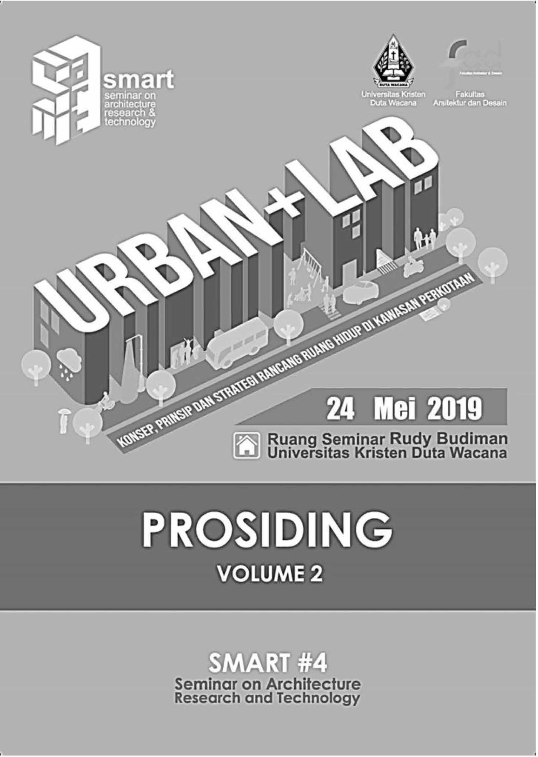 View Vol. 4 No. 2 (2019): SMART #4 - Seminar on Architecture Research & Technology - Vol 2